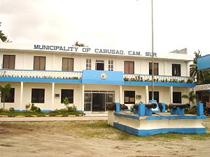 Cabusao, Camarines Sur - Municipal Hall