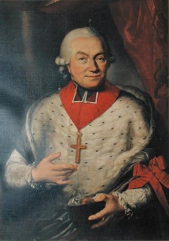 César-Constantin-François de Hoensbroeck - César-Constantin-François de Hoensbroeck, last prince bishop of Liege.