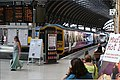 Cafe life on York station, a hot day at 30 degrees. - panoramio.jpg