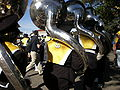 Cal Band en route to Memorial Stadium for 2008 Big Game 04.JPG
