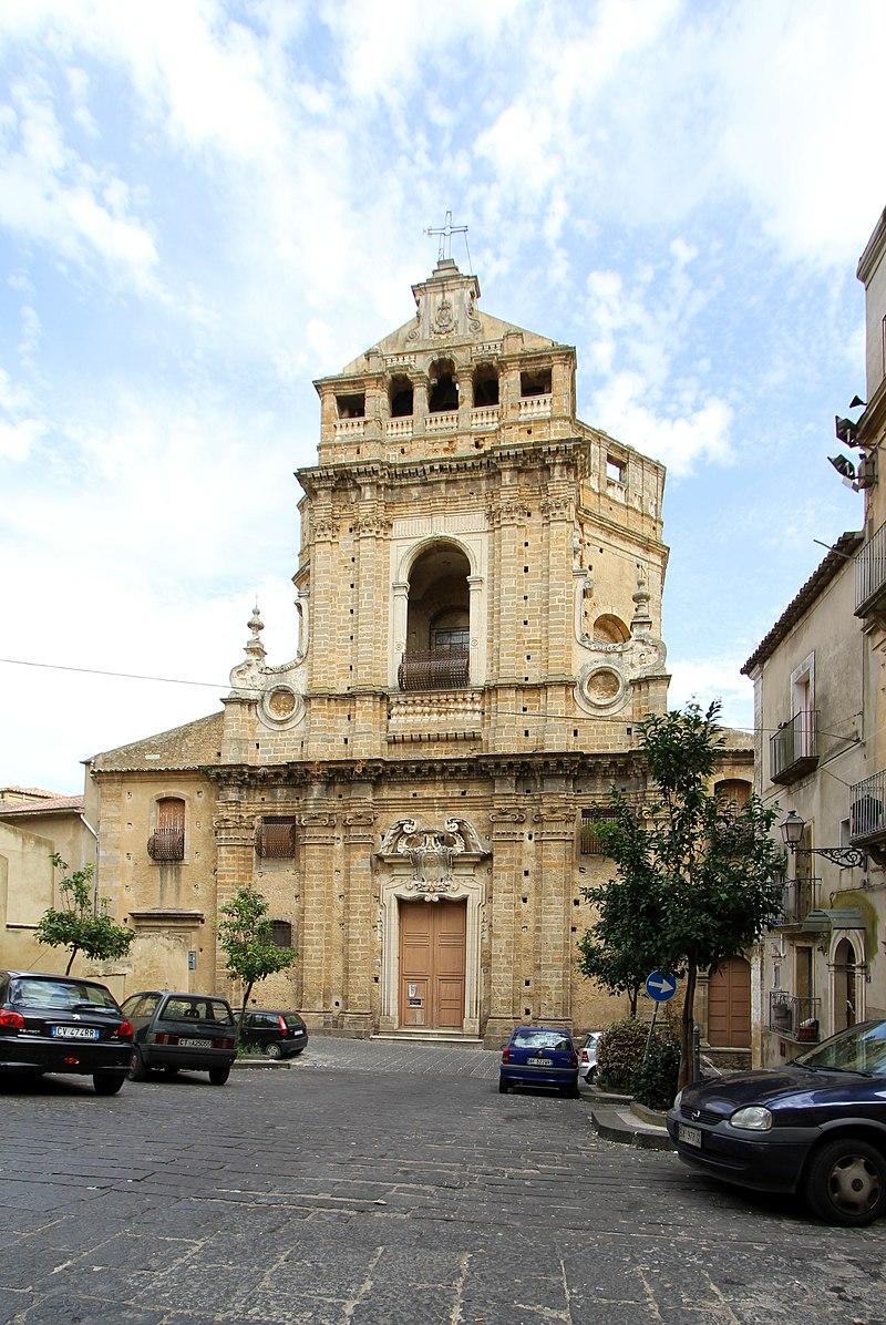 Caltagirone, Chiesa del SS. Salvatore (dove sono le spoglie di Don Luigi Sturzo) - panoramio.jpg
