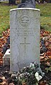 Campbell CWGC gravestone, Kirkdale Cemetery.jpg