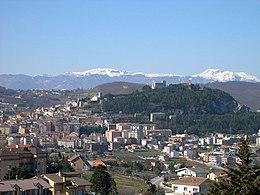 Veduta di Campobasso, capoluogo della regione
