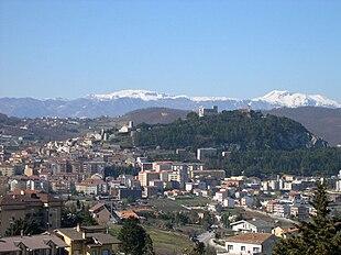 Panorama di Campobasso