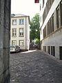 Campus Altstadt Heidelberg Marsiliusplatz mit Durchblick zum Innenhof der Neuen Universität.jpg
