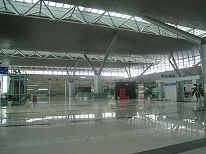Can Tho International Airport - Inside the terminal of the Can Tho International Airport