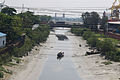 Canel from Chittagong Port connecting overpass bridge (01).jpg