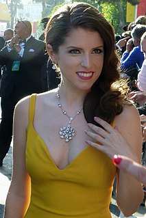 Anna Kendrick American actress and singer