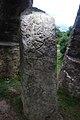 Caratacus Stone, Exmoor, lit from above.jpg
