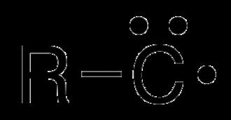 Carbyne - doublet (1 radical, 1 pair, 1 vacant orbital)
