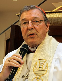 Cardinal George Pell in 2012