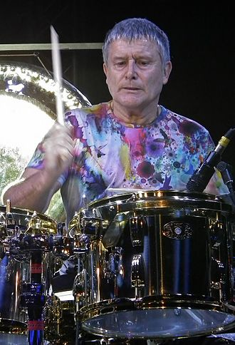 Carl Palmer - Palmer performing with his band at Butlin's, Skegness in 2014