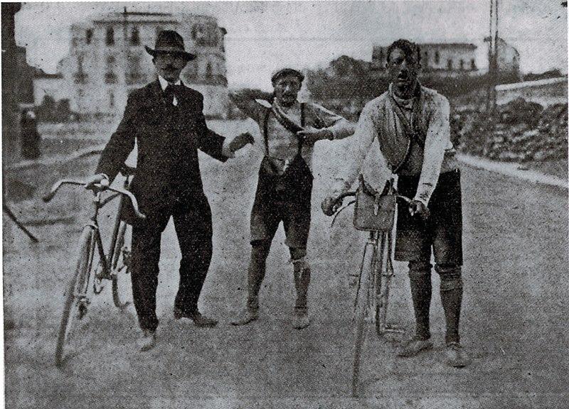 Carlo Galetti e Luigi Ganna