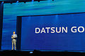 Carlos Ghosn at Datsun Go Launch New Delhi India July 15 2013 Picture by Bertel Schmitt 3.jpg