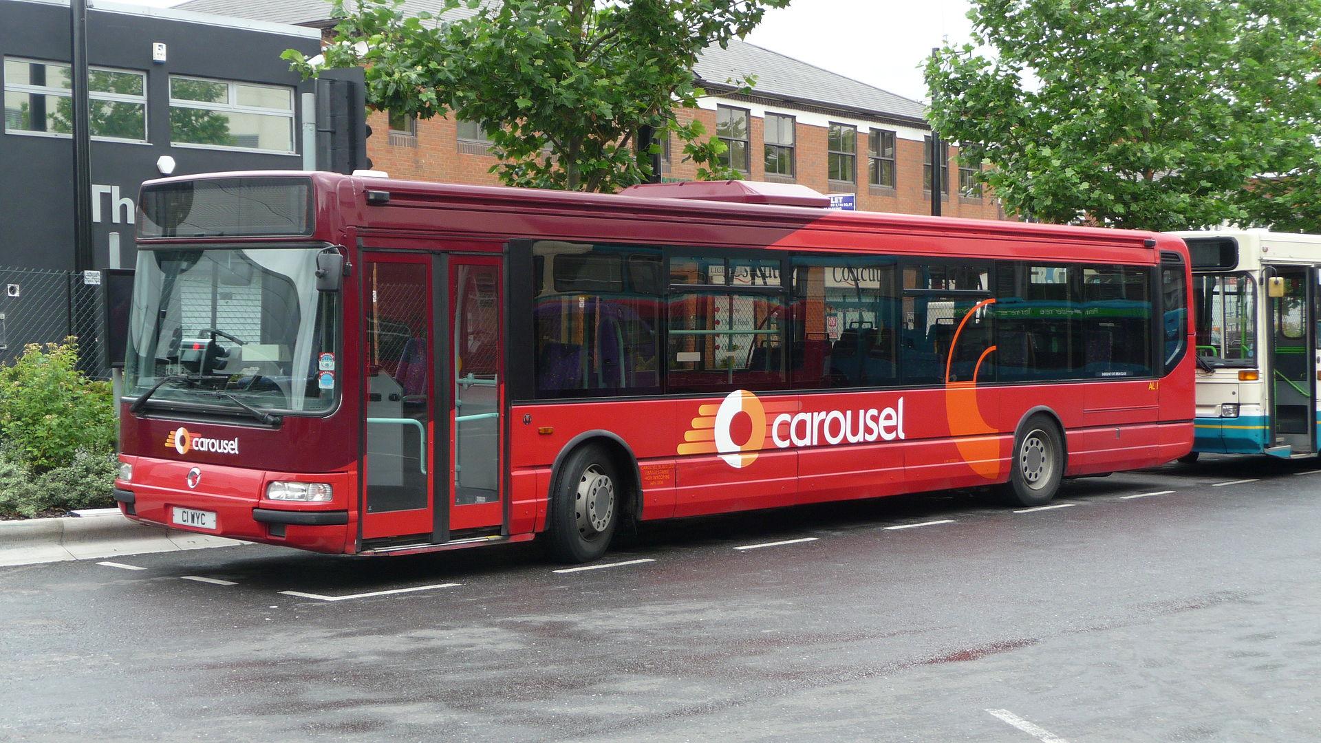 Mercedes Benz Service B >> Carousel Buses - Wikipedia