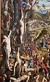 Carpaccio, crocifissione e apoteosi dei diecimila martiri del monte ararat, 1515, da s.antonio di castello 04.JPG