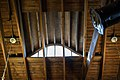 Carriage house roof beams - James A Garfield National Historic Site (34263972293).jpg