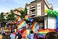 Carro Arcigay MI - Gay Pride nazionale di Roma 16-6-2007 - Foto Giovanni Dall'Orto 3.jpg
