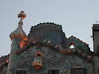 Будинок бальо дах і хрест