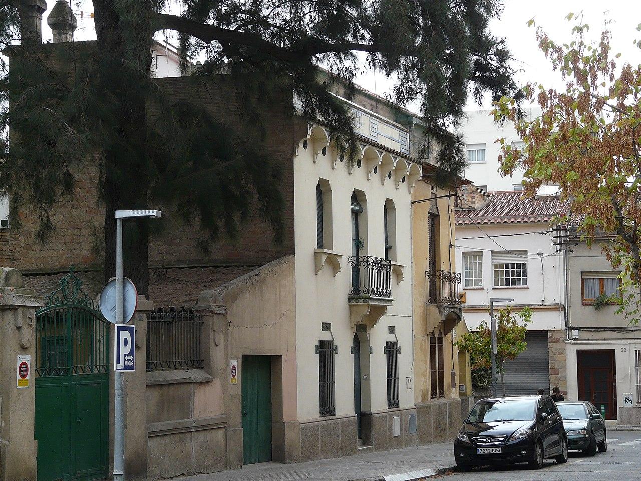 File casa josefa serra de molins p1060202 jpg wikimedia - Casa en molins de rei ...