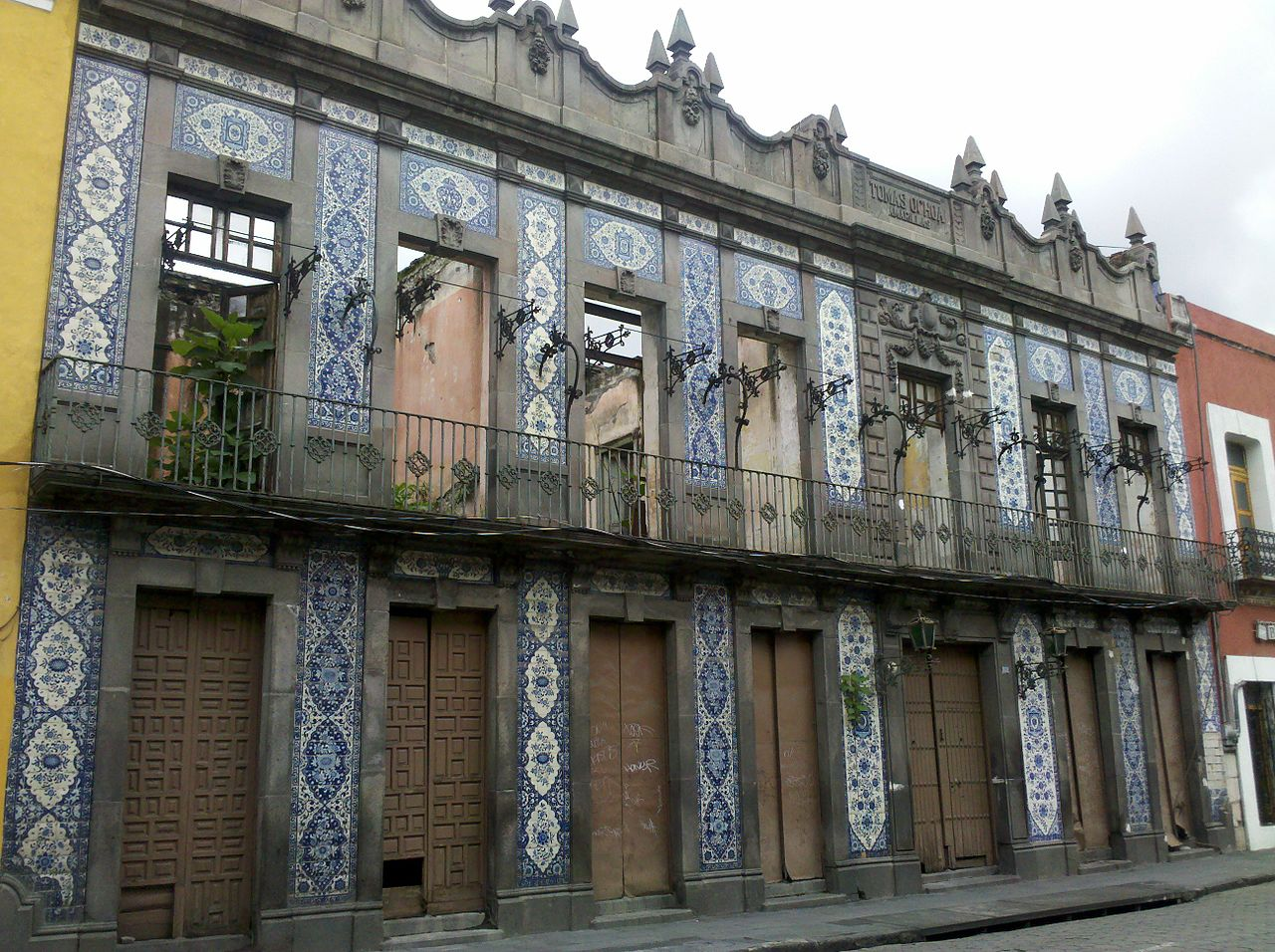 File casa de los azulejos wikimedia commons for Casa de azulejos cordoba