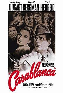 <i>Casablanca</i> (film) 1942 American historical romance film