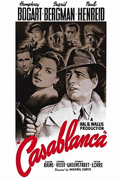 "Black-and-white film screenshot with the title of the film in fancy font. Below it is the text ""A Warner Bros. - First National Picture"". In the background is a crowded nightclub filled with many people."