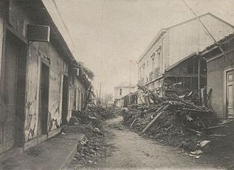 1922 Vallenar earthquake - Damage in the Atacama Region