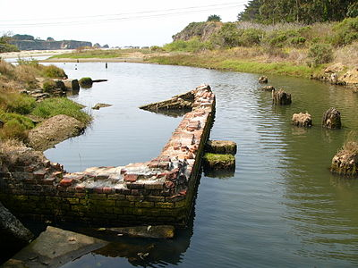 Mill Ruins At Caspar Beach
