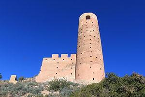 Serra d'Espadà - Image: Castillo de Almonecir 06