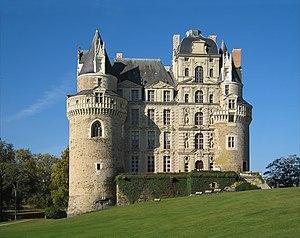 Château de Brissac - East elevation