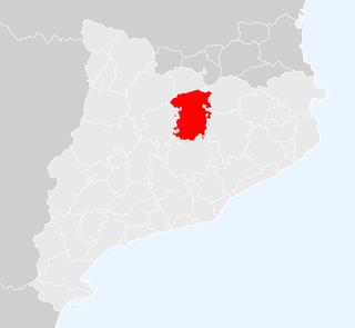 Comarca in Catalonia, Spain