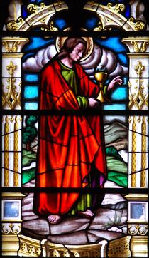 Catedral Magistral de Alcalá de Henares (1959) San Félix de Alcalá, vitral.png