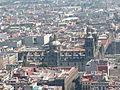 Catedral Metropolitana desde la Torre Latinoamericana, Ciudad de México.JPG