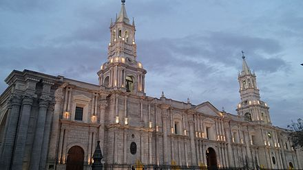 Arequipa Cathedral, Arequipa Catedral de Arequipa.jpg