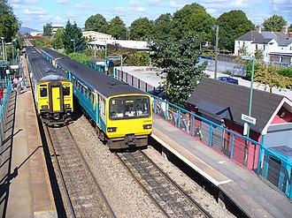 Cathays railway station - Image: Cathays railway station