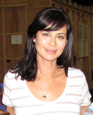 Catherine Bell (actress) - Bell on the set of Army Wives in Charleston, South Carolina (2012)