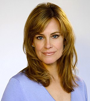 Catherine Mary Stewart - Image: Catherine Mary Stewart Light Blue Sweater