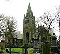 Cemetery Chapels, Pudsey Cemetery - Cemetery Road - geograph.org.uk - 373880.jpg