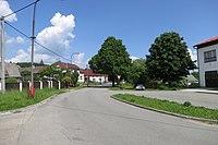 Center of Bítovánky, Třebíč District.JPG