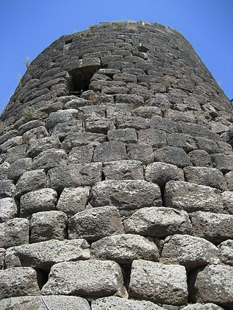 Nuraghe - Central tower of the Nuraghe at Sant'Antine of Torralba