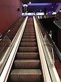 Centre commercial du Carré de Soie - cinéma - escalator.JPG