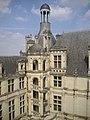 Château de Chambord - Escalier Exterieur.JPG