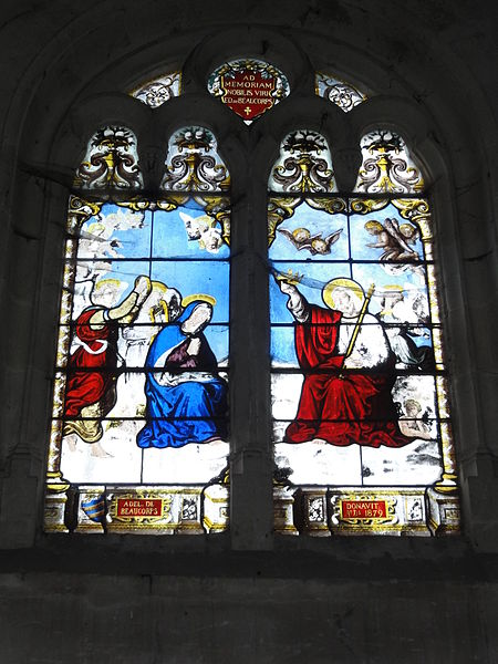 Chailles (Loir-et-Cher) église, vitrail 2