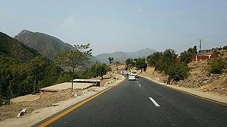 Lower Dir District - Chakdara Timargara Road
