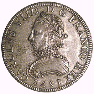 Charles IX of France - Coin of Charles IX, 1573
