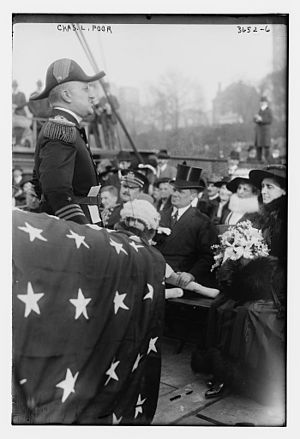 New York Naval Militia - Image: Charles L. Poor, Commander of the Naval Militia of the State of New York in 1916