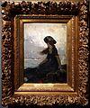 Charles hermans, ragazzina in riva al mare, s.d.jpg