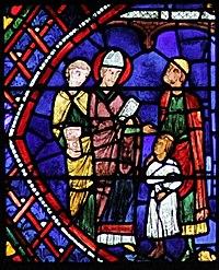Vitrail de saint apollinaire wikimonde for La varenne chartres