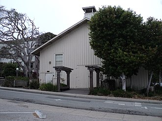 California Historical Landmarks in Monterey County - Image: Chautauqua Hall 16th and Central Pacific Grove
